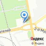 Складничок на карте Санкт-Петербурга