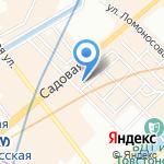 Картина маслом на карте Санкт-Петербурга