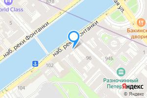 Сдается студия в Санкт-Петербурге наб. реки Фонтанки, 96