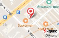 Схема проезда до компании Джинсовая Необходимость в Санкт-Петербурге