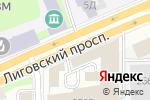Схема проезда до компании Forrest в Санкт-Петербурге