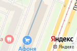 Схема проезда до компании Mama Roma в Санкт-Петербурге
