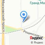 Спецзащита СПб на карте Санкт-Петербурга