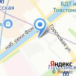 Разночинный Петербург на карте Санкт-Петербурга