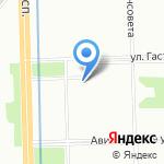 Возвращение на карте Санкт-Петербурга