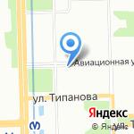 Веселый пекарь на карте Санкт-Петербурга