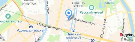 Vinyl Records на карте Санкт-Петербурга