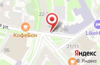 Схема проезда до компании Энканто Принт в Санкт-Петербурге