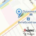 Клиника военно-морской терапии на карте Санкт-Петербурга