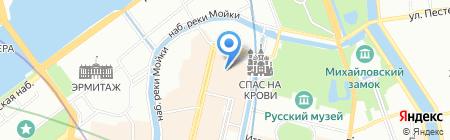 Квеструм.рф на карте Санкт-Петербурга
