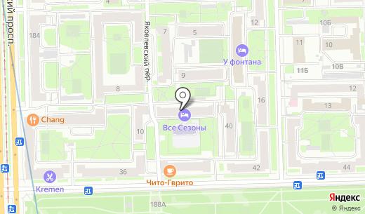 Зарайя. Схема проезда в Санкт-Петербурге