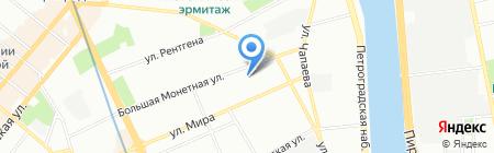 Парк Инвест на карте Санкт-Петербурга