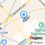 Замочный сервис на карте Санкт-Петербурга