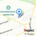 Школа боевых искусств Демида Момота на карте Санкт-Петербурга