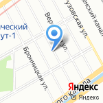 Нева-7 на карте Санкт-Петербурга