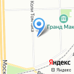 Ресторановедъ на карте Санкт-Петербурга
