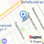 РИО на карте Санкт-Петербурга