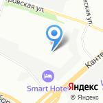 Пластпром на карте Санкт-Петербурга