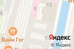 Схема проезда до компании ПРАЙМТУР в Санкт-Петербурге