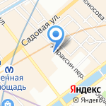 Версия на карте Санкт-Петербурга