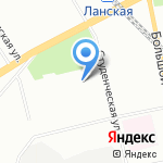 Евротрансавто на карте Санкт-Петербурга