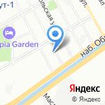 Средняя общеобразовательная школа №317 на карте Санкт-Петербурга