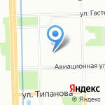 Московский спортивно-технический центр ДОСААФ России на карте Санкт-Петербурга