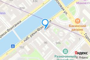 Студия в Санкт-Петербурге наб. реки Фонтанки, 94