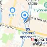 Agedi на карте Санкт-Петербурга