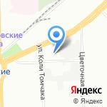Кольчуга на карте Санкт-Петербурга