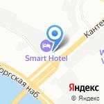 СевЗапПромЭкология на карте Санкт-Петербурга