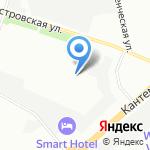 Промсталь Ижора на карте Санкт-Петербурга