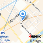 VISTA на карте Санкт-Петербурга
