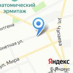 Камины и печи Almod на карте Санкт-Петербурга