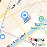 Муниципальное образование округ №78 на карте Санкт-Петербурга