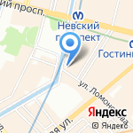 DANCE HIGH SCHOOL на карте Санкт-Петербурга