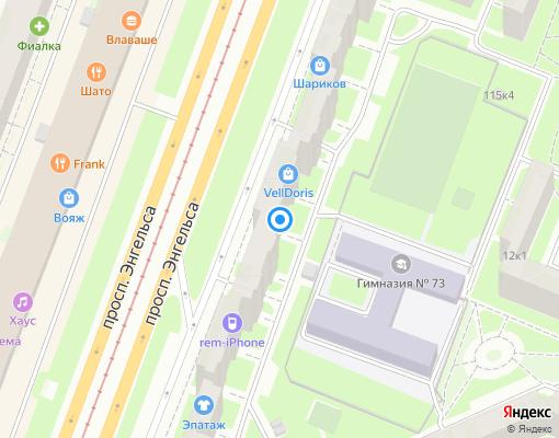 Жилищно-строительный кооператив «ЖСК-995» на карте Санкт-Петербурга