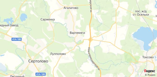 Вартемяги на карте