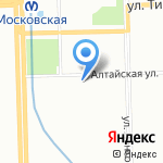 Гимназия №526 на карте Санкт-Петербурга