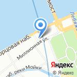 Музей Людвига в Русском музее на карте Санкт-Петербурга