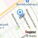 Анатоль на карте Санкт-Петербурга