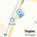 Оптимус на карте Санкт-Петербурга