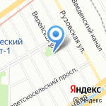 Пивной погребок на карте Санкт-Петербурга