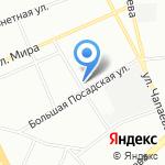 Трест-40 на карте Санкт-Петербурга