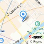 Ашихара Будокай на карте Санкт-Петербурга