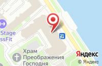 Схема проезда до компании Adeptica в Санкт-Петербурге