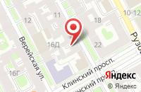Схема проезда до компании Оттава в Санкт-Петербурге