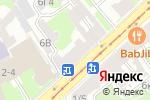 Схема проезда до компании Design group в Санкт-Петербурге