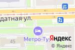 Схема проезда до компании Лиман в Санкт-Петербурге