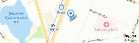 ТекСтиль на карте Санкт-Петербурга